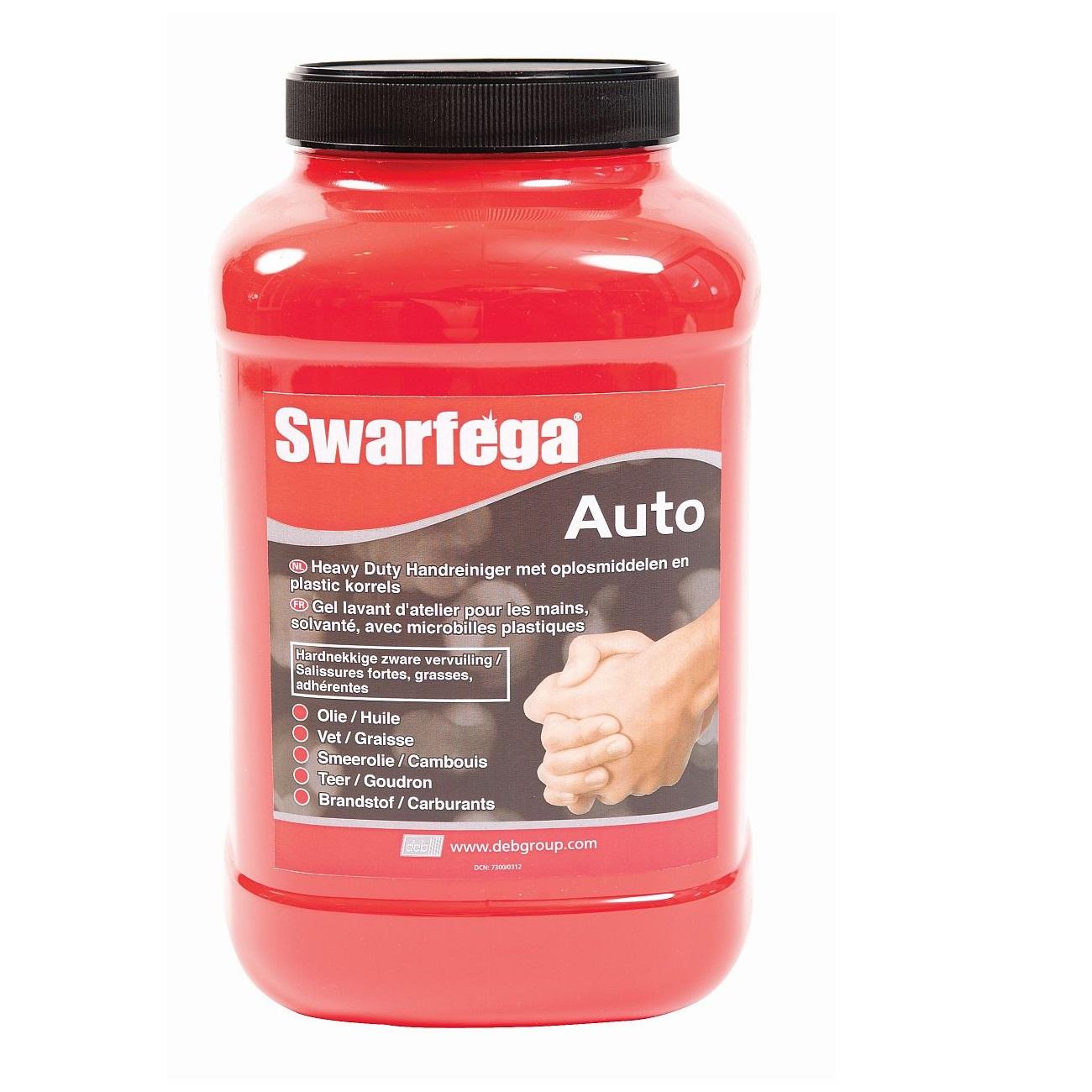 Čistič rukou s granulemi proti silnému znečištění - SWARGEFA AUTO 4x4,5l