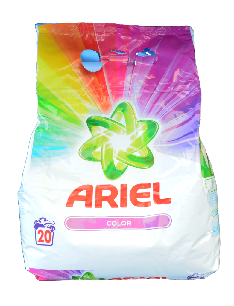 Prací prášek ARIEL / 20 pracích dávek color