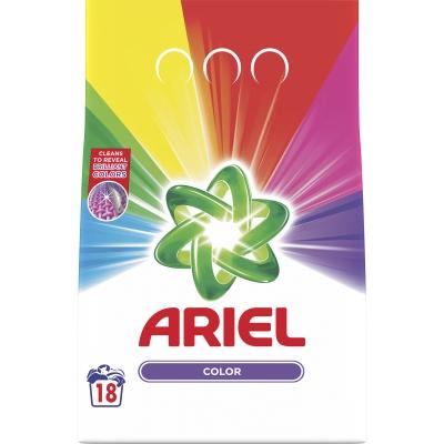 Prací prášek ARIEL / 18 pracích dávek color