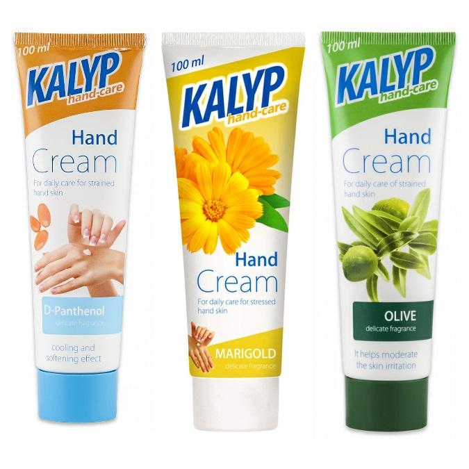 Krém na ruce KALYP 100ml tři druhy