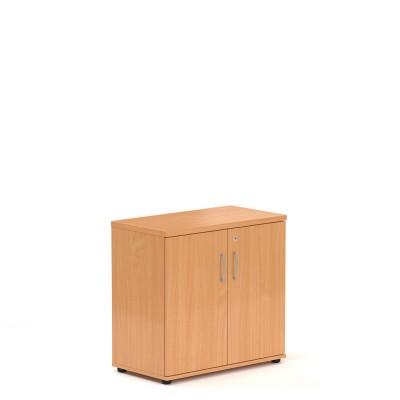 Nízká skříň V-line 80 x 38,5 x 76, buk.