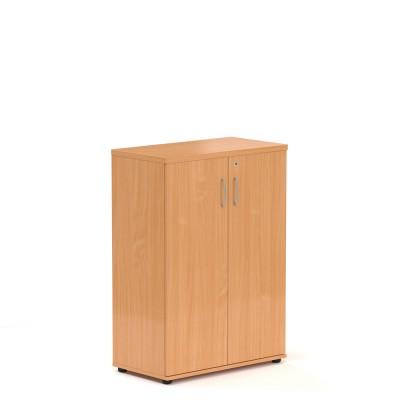 Střední skříň V-line 80 x 38,5 x 113, ořech