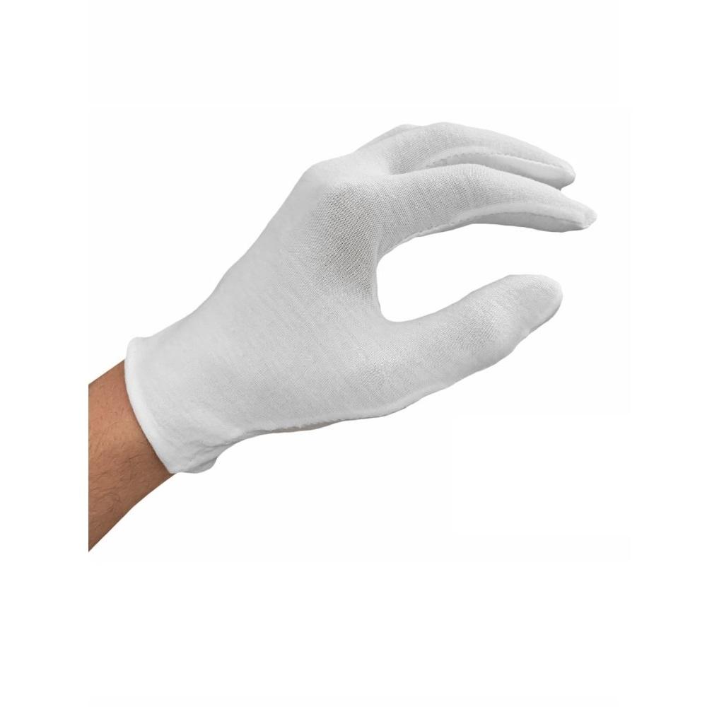 Rukavice bavlna - vložka, velikost L - pár