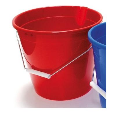 Vědro PVC 10 l s výlevkou červené