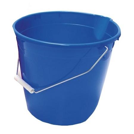 Vědro PVC 10 l s výlevkou modré