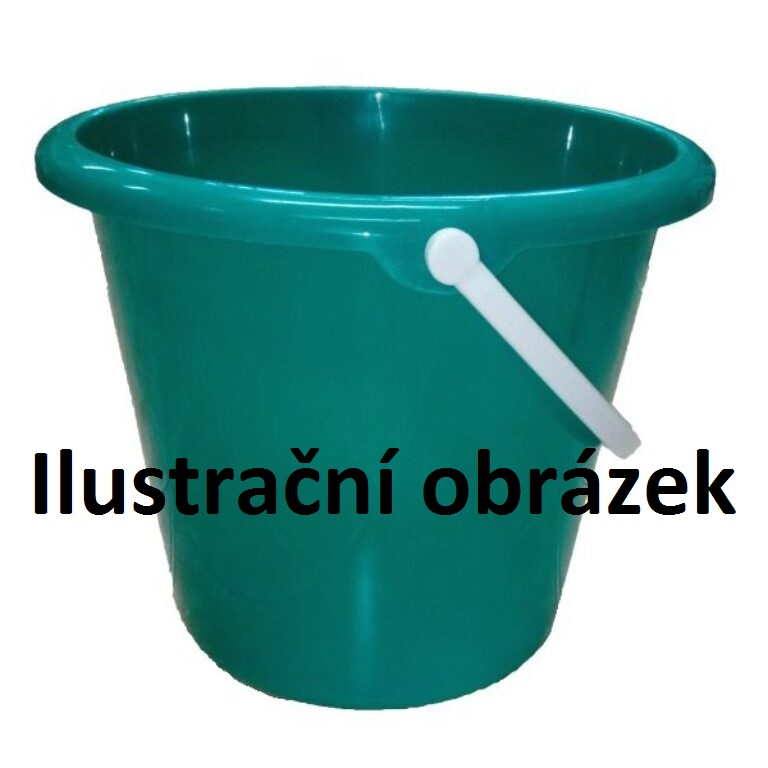 Vědro PVC 5 l zelená/modrá
