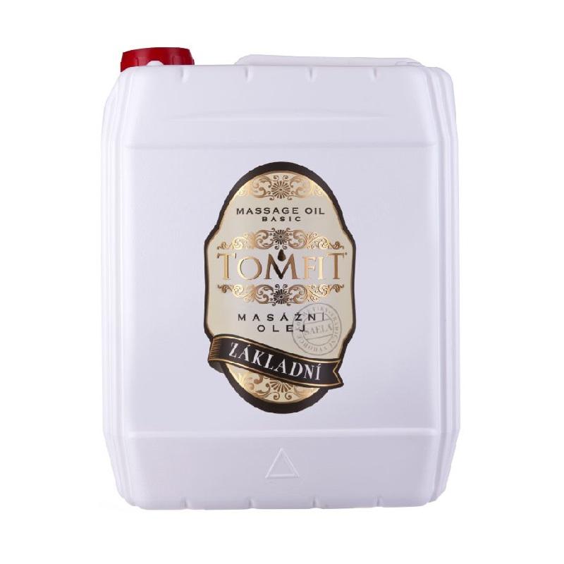 Olej masážní TOMFIT základní 5l