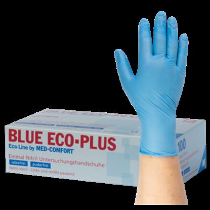 Rukavice NITRIL modré S, 100ks